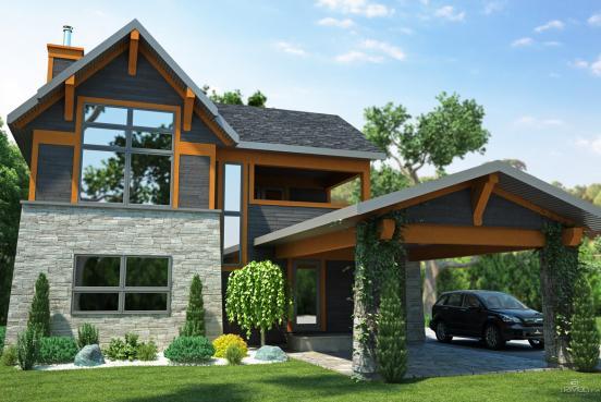M4 architecture portfolio style scandinave mod le for Architecture traditionnelle scandinave