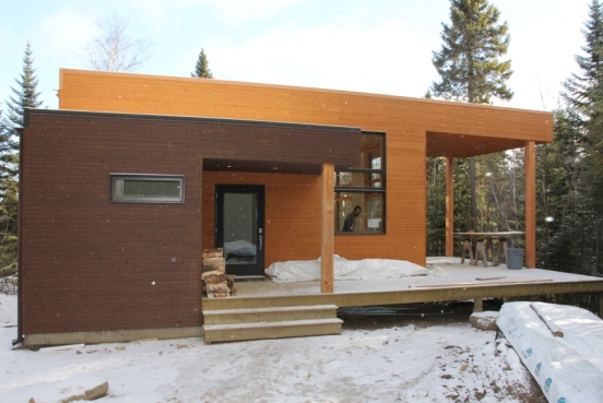 M4 architecture scandinave contemporain shingle et for Architecture scandinave contemporaine